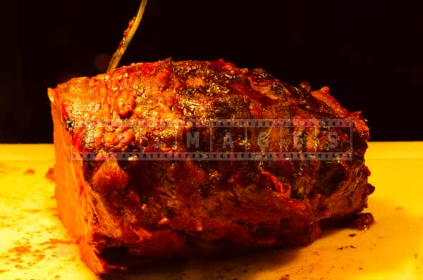 Beef roasted to perfection, budget travel ideas