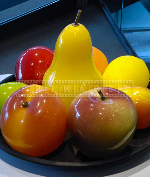 Still life composition - glass fruits plate, New York museums road trip ideas