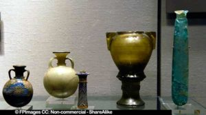 Historic vessels collection, beautiful glass artworks