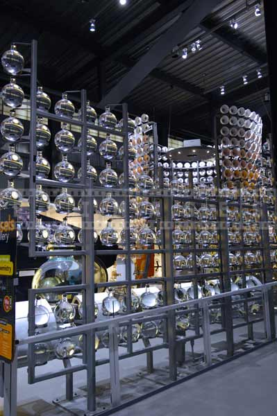 corning museum of glass vessels gallery