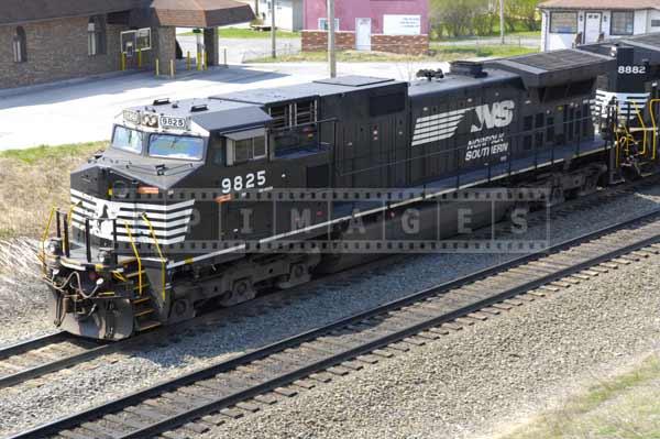 Norfolk Southern locomotives in Gallitzin