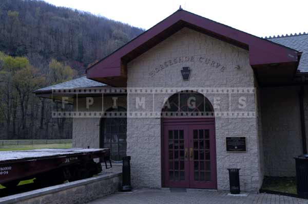 Horseshoe curve visitors center