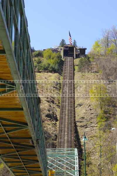 Steep grade of inclined plane, Pennsylvania attractions off the beaten path