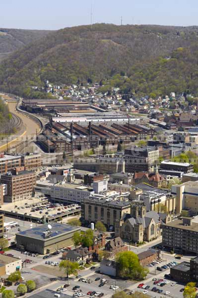 Johnstown, PA - industrial cityscapes