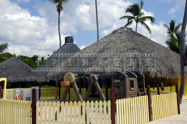 Kids activities center - pictures of palapa buildings