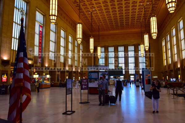 Philadelphia 30 street station interior