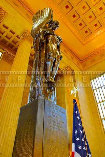 Philadelphia 30 street station WWII monument