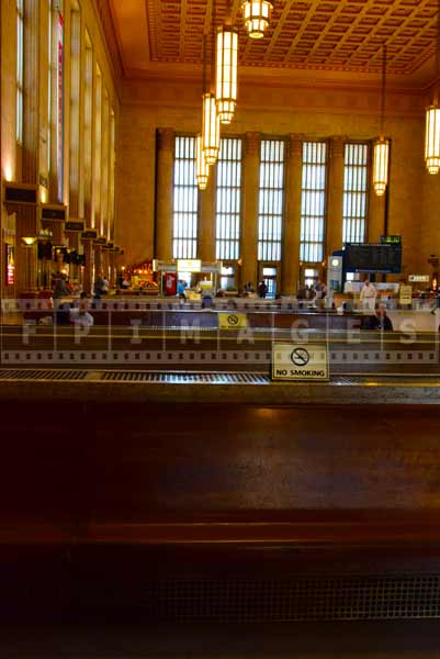 Philadelphia 30 street station seating area
