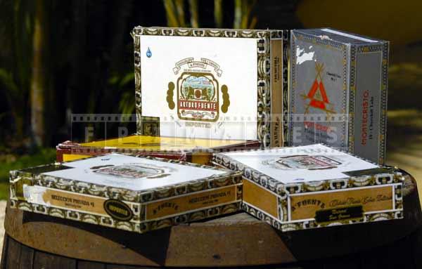 Arturo Fuente cigar boxes - Caribbean holidays gift ideas