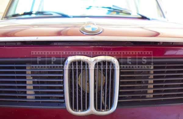 BMW 2002 old cars detail grille, automotive industrial design