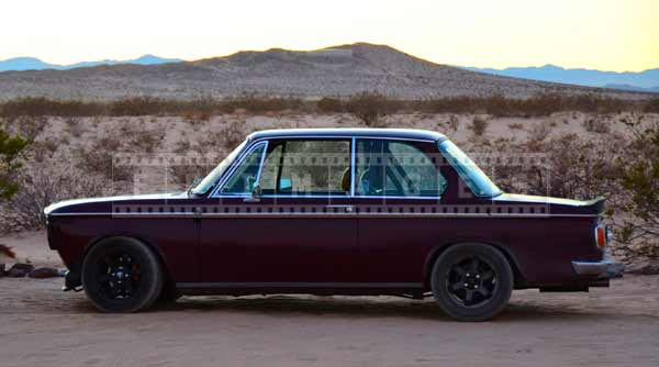 BMW 2002 side view, industrial design pictures