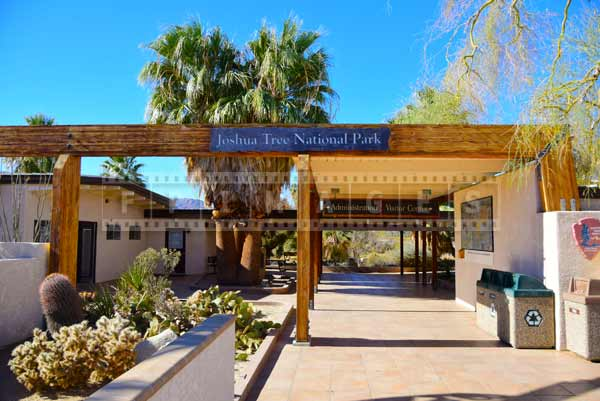 Joshua Tree National Park visitors center, travel images