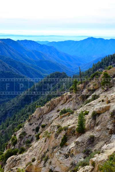angeles national forest Inspiration point stop - California road trip idea