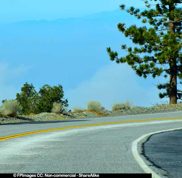 Angeles crest highway scenic drive road trip ideas in for Vacation ideas in california