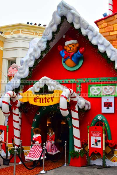 Santa's Workshop for Christmas celebration at the Grove