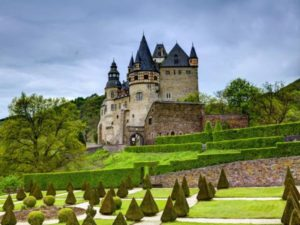 german castles and parks