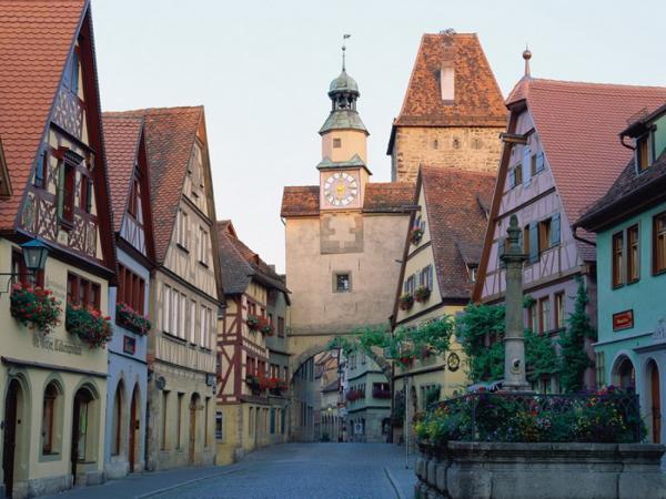 german town street