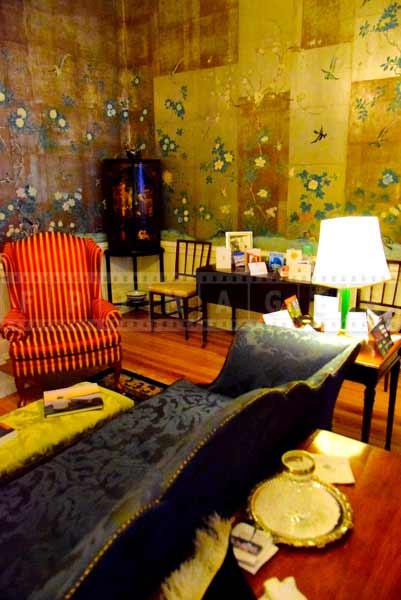 Elegant decor of the Lieutenant governor reception room