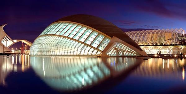travel images, modern architecture in spain