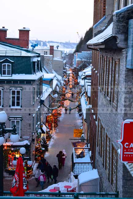 Old Quebec Petit Champlain - great romantic getaway