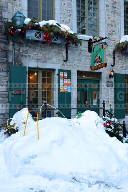 Restaurant in Old Quebec