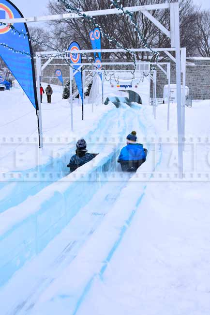 Ice slide fun winter activities for kids