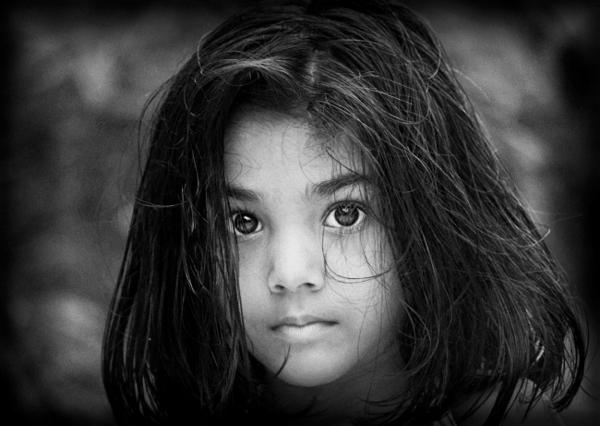 Black White Portraits Of Kids And S