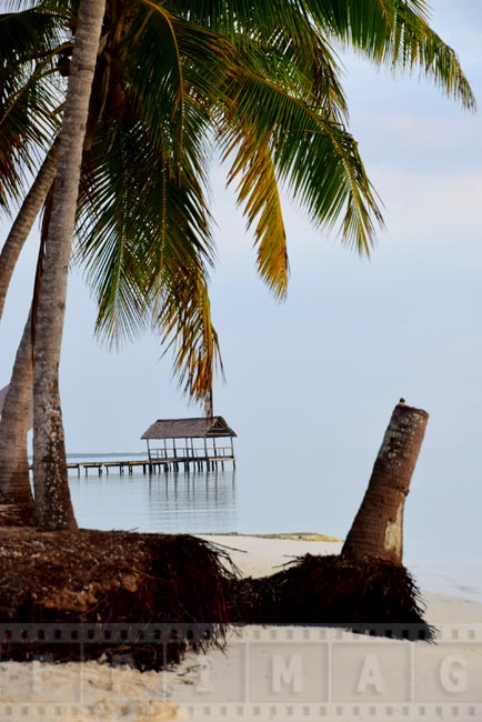 Cayo Guillermo beach scene