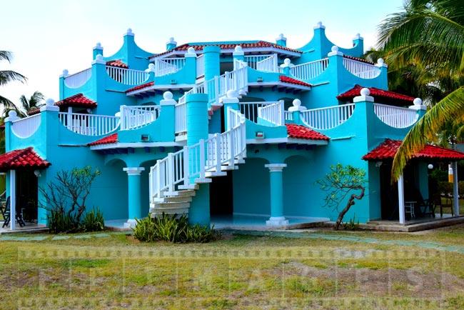Elaborate resort architecture