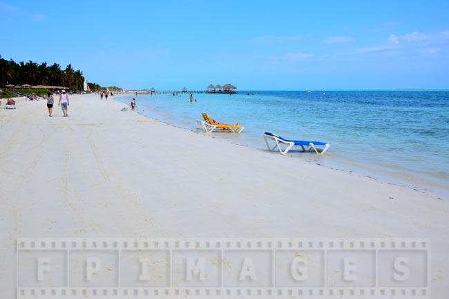 Nice sandy beach and calm ocean