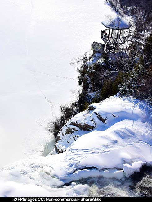 Montmorency falls and Baroness lookout