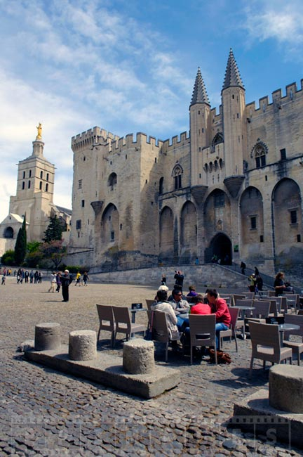 Avignon - charming small town in Europe
