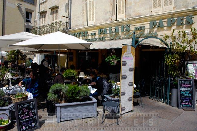 Avignon street scenes