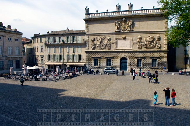 Main square near Papal Palace