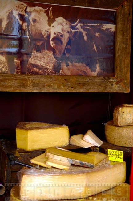 Beautiful cheese stand