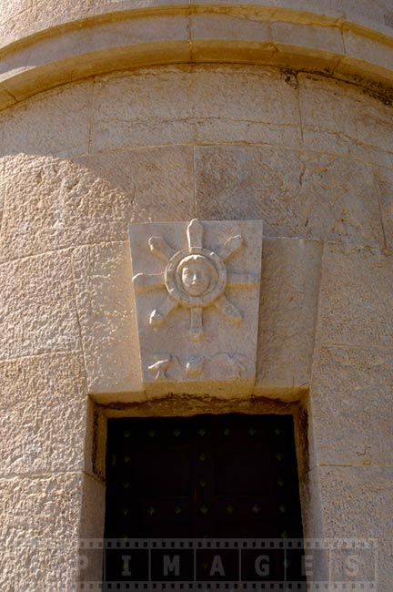 Cassis lighthouse detail