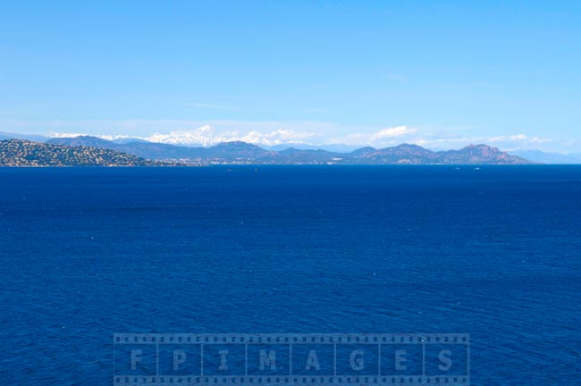 Amazing colors of the med and south of France coastline
