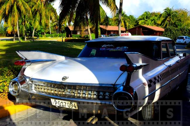 Cadillac Eldorado 1959 tail fins and lights