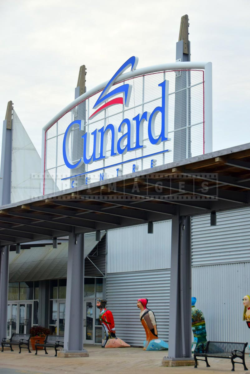 Cunard terminal at Halifax port