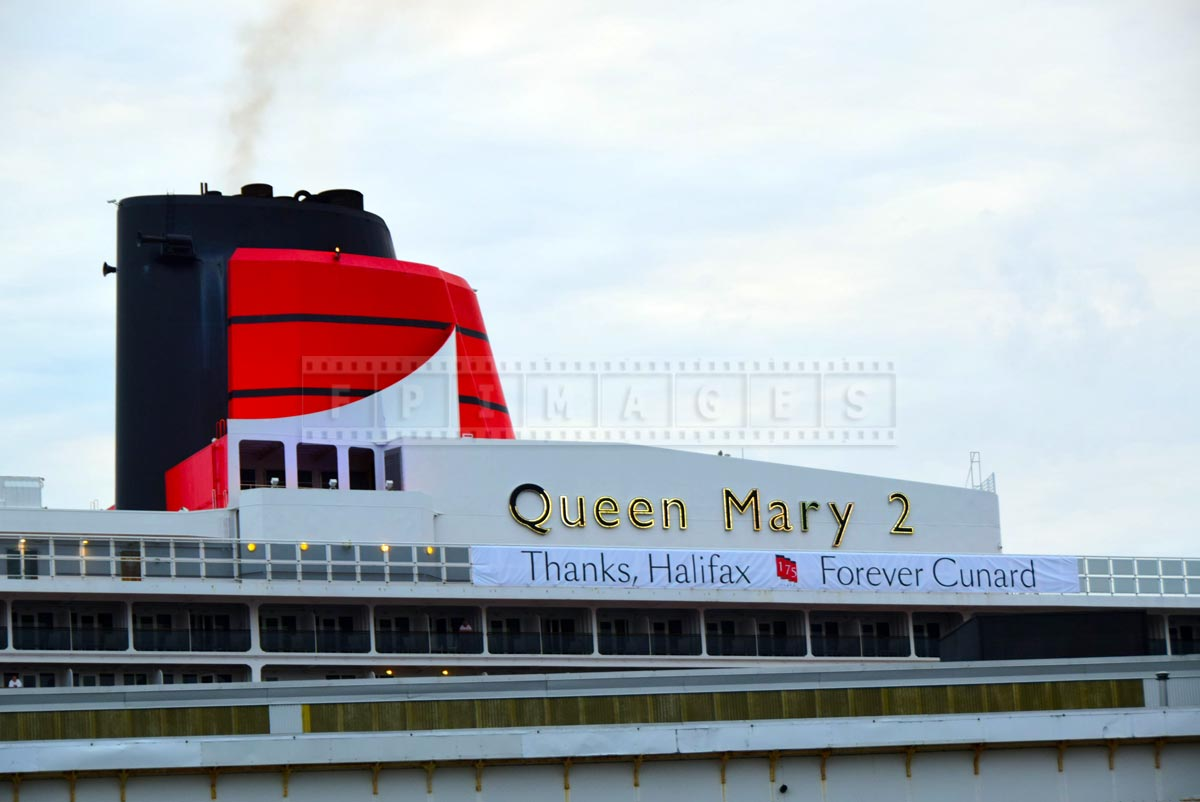 175-th Cunard Line anniversary sign - Thanks Halifax, forever Cunard