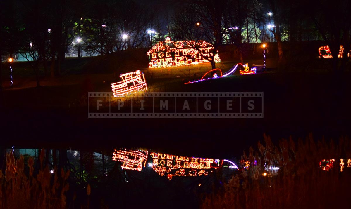 Albany Christmas lights show