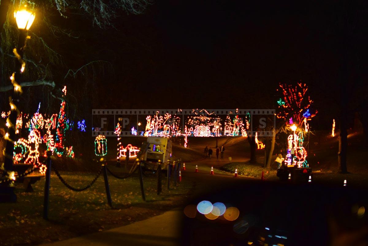 Albany, NY Christmas Lights display