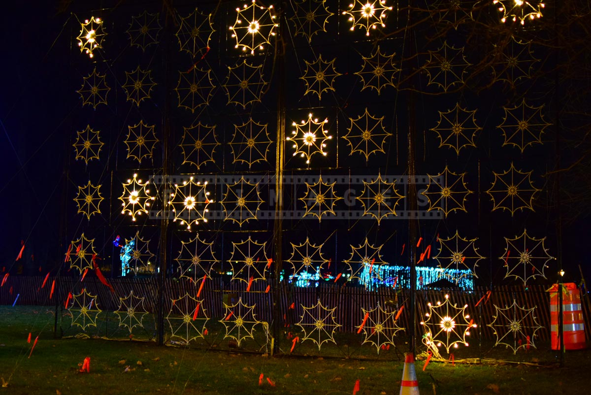 Awesome xmas lights - animated snowflakes