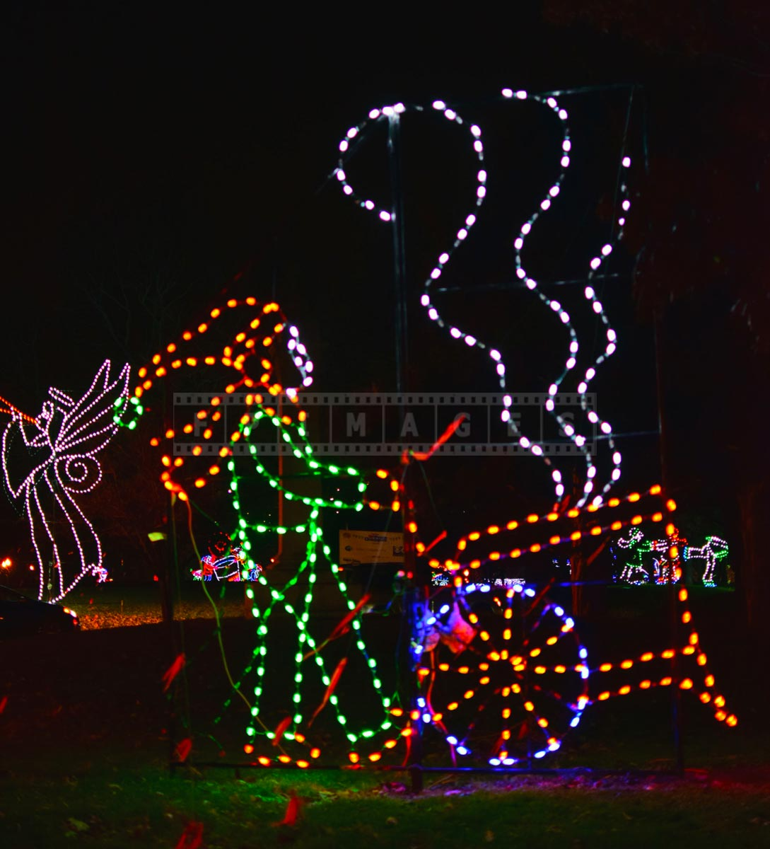 Christmas lights decorations - Fairy tales characters