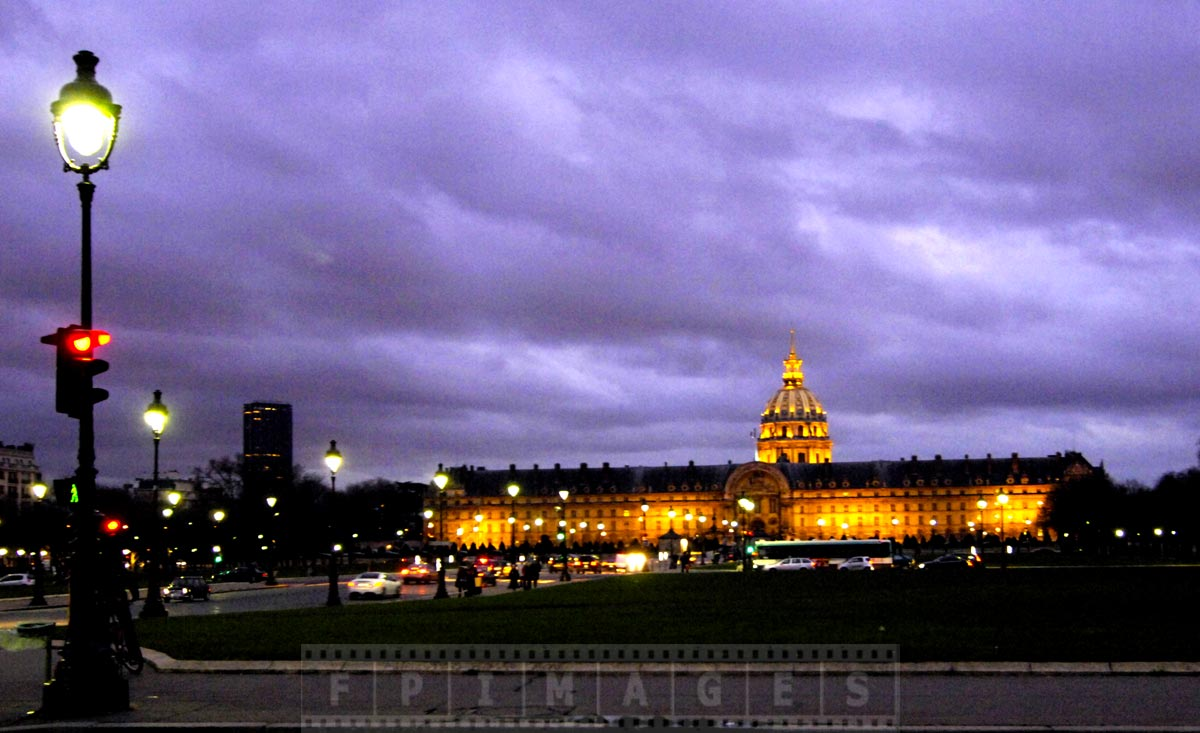 Hotel National des Invalides - one of most amazing buildings in Paris