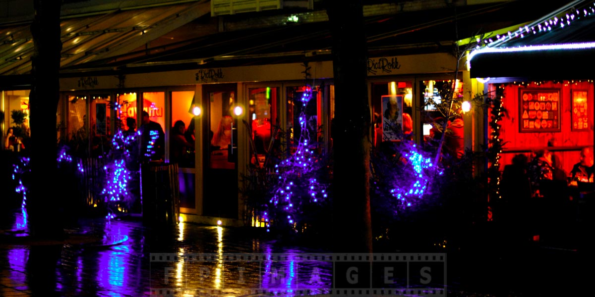 Cozy restaurants in old Bruges