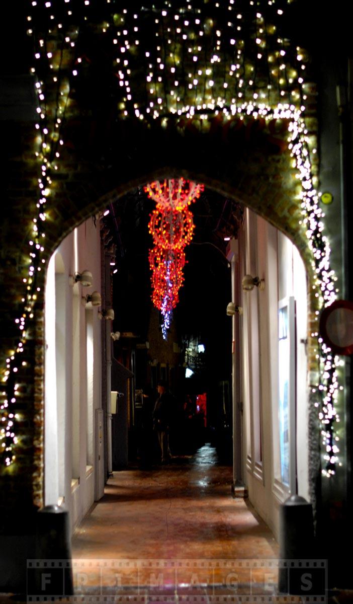 Amazing street decorations lights