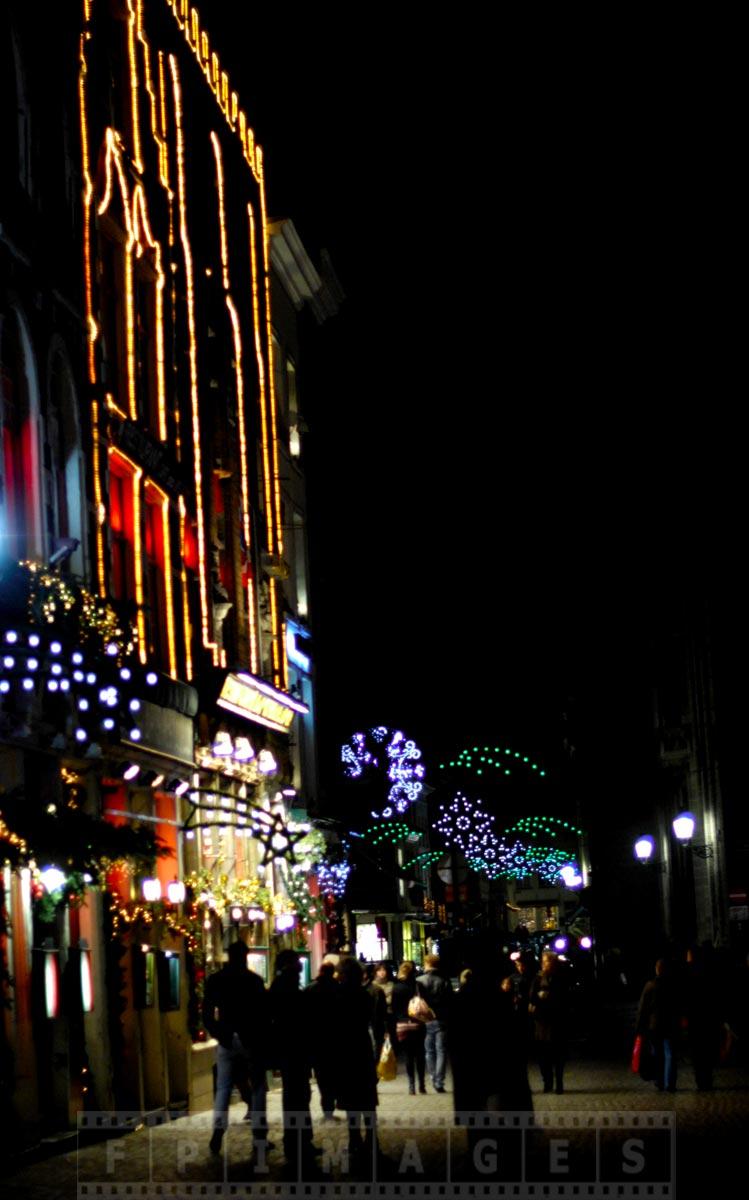 Night scene near Market square