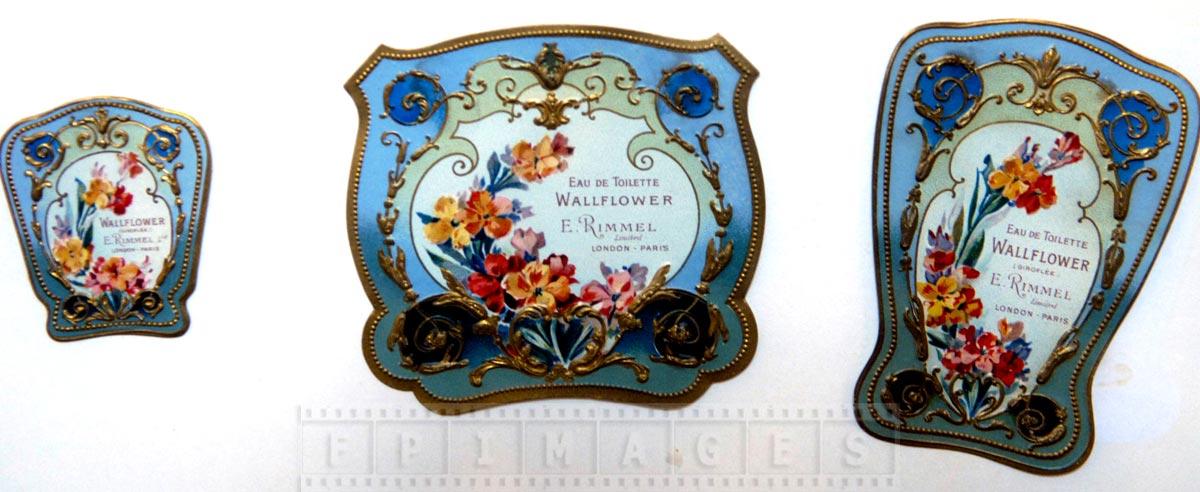 Elegant historic perfume boxes at Fragonard museum