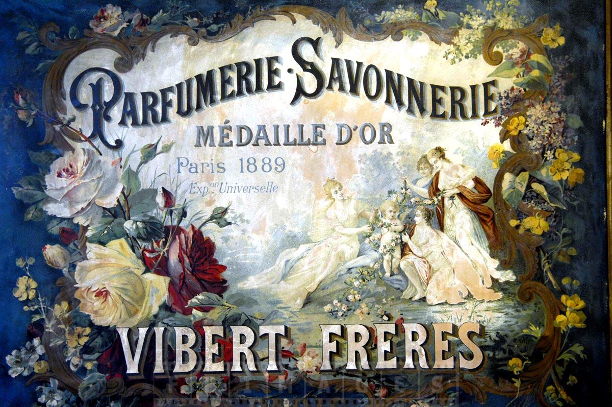 Vibert Freres perfume golden award at Paris expo 1889